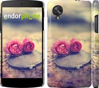 """Чехол на LG Nexus 5 Две розы """"698c-57"""""""