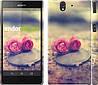 """Чехол на Sony Xperia Z C6602 Две розы """"698c-40"""""""