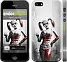 """Чехол на iPhone 5s Batman. Arkham city. Harley """"610c-21"""""""