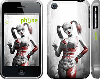 "Чехол на iPhone 3Gs Batman. Arkham city. Harley ""610c-34"""