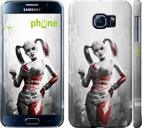 "Чехол на Samsung Galaxy S6 G920 Batman. Arkham city. Harley ""610c-80"""