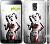"Чехол на Samsung Galaxy S5 g900h Batman. Arkham city. Harley ""610c-24"""