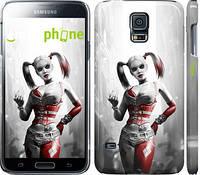 "Чехол на Samsung Galaxy S5 Duos SM G900FD Batman. Arkham city. Harley ""610c-62"""