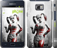 "Чехол на Samsung Galaxy S2 i9100 Batman. Arkham city. Harley ""610c-14"""