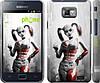 "Чехол на Samsung Galaxy S2 Plus i9105 Batman. Arkham city. Harley ""610c-71"""