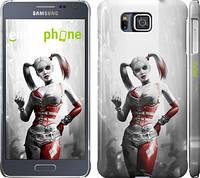 "Чехол на Samsung Galaxy Alpha G850F Batman. Arkham city. Harley ""610c-65"""