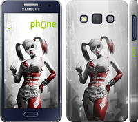 "Чехол на Samsung Galaxy A3 A300H Batman. Arkham city. Harley ""610c-72"""