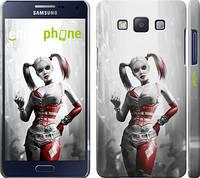 "Чехол на Samsung Galaxy A5 A500H Batman. Arkham city. Harley ""610c-73"""
