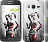 "Чехол на Samsung Galaxy Core Prime G360H Batman. Arkham city. Harley ""610c-76"""