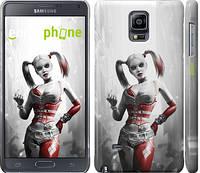 "Чехол на Samsung Galaxy Note 4 N910H Batman. Arkham city. Harley ""610c-64"""