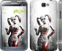 "Чехол на Samsung Galaxy Note 2 N7100 Batman. Arkham city. Harley ""610c-17"""