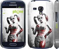 "Чехол на Samsung Galaxy S3 mini Batman. Arkham city. Harley ""610c-31"""