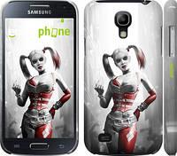 "Чехол на Samsung Galaxy S4 mini Batman. Arkham city. Harley ""610c-32"""