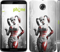 "Чехол на Motorola Nexus 6 Batman. Arkham city. Harley ""610c-67"""