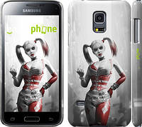 "Чехол на Samsung Galaxy S5 mini G800H Batman. Arkham city. Harley ""610c-44"""