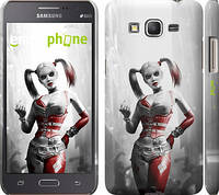 "Чехол на Samsung Galaxy Grand Prime G530H Batman. Arkham city. Harley ""610c-74"""