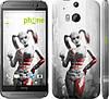 """Чехол на HTC One M8 Batman. Arkham city. Harley """"610c-30"""""""