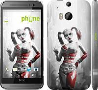 "Чехол на HTC One M8 dual sim Batman. Arkham city. Harley ""610c-55"""