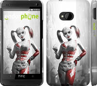 """Чехол на HTC One M7 Batman. Arkham city. Harley """"610c-36"""""""