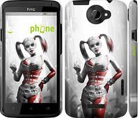 """Чехол на HTC One X+ Batman. Arkham city. Harley """"610c-69"""""""
