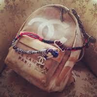 красивый рюкзак от шанель купить недорого