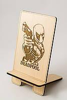 Дедпул Аксессуары для телефонов и смартфонов Подставка под телефон Супергерои марвел Marvel Comics
