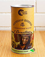 Горячий шоколад Чудові напої Brazilian с коричневым сахаром, 200 г (тубус)