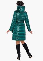 Воздуховик Braggart Angel's Fluff 31845 | Весенне-осенняя женская куртка изумрудная, фото 3