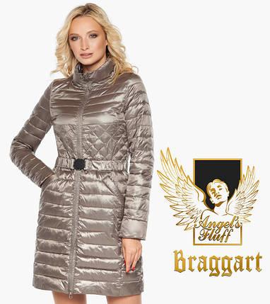 Воздуховик Braggart Angel's Fluff 39002 | Куртка женская весна-осень кварцевая, фото 2