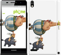 "Чехол на Huawei Ascend P6 Астерикс: Земля Богов ""2634c-39"""