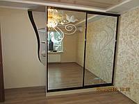 Шкаф купе с матовым изображением, фото 1