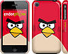 "Чехол на iPhone 3Gs Angry birds. Red. ""542c-34"""