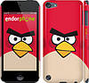 "Чехол на iPod Touch 5 Angry birds. Red. ""542c-35"""