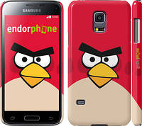"Чехол на Samsung Galaxy S5 mini G800H Angry birds. Red. ""542c-44"""