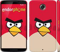 """Чехол на Motorola Nexus 6 Angry birds. Red. """"542c-67"""""""