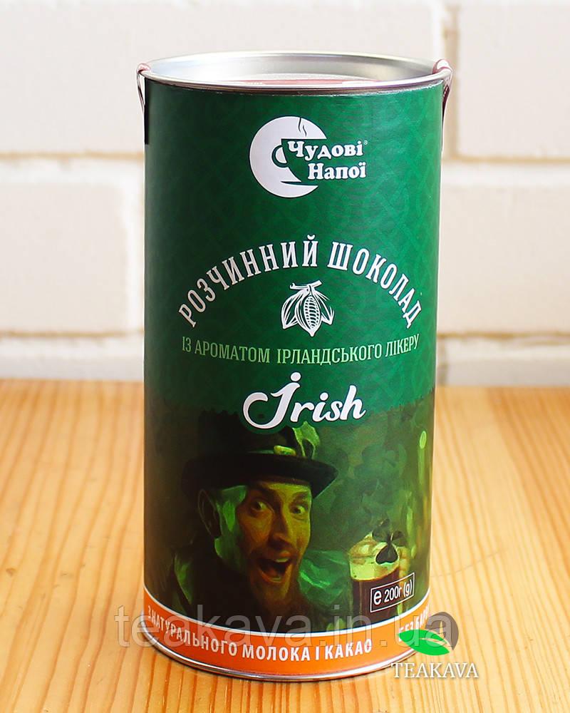 Горячий шоколад с ароматом ирландского ликера Irish, 200 г (тубус)