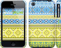 """Чехол на iPhone 3Gs Вышиванка 40 """"1174c-34"""""""