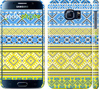 "Чехол на Samsung Galaxy S6 G920 Вышиванка 40 ""1174c-80"""