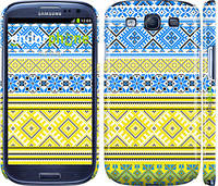 "Чехол на Samsung Galaxy S3 Duos I9300i Вышиванка 40 ""1174c-50"""