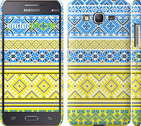 "Чехол на Samsung Galaxy Grand Prime G530H Вышиванка 40 ""1174c-74"""