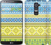 "Чехол на LG G2 Вышиванка 40 ""1174c-37"""