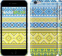 """Чехол на iPhone 6 Plus Вышиванка 40 """"1174c-48"""""""