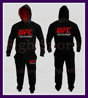 """Мужской Спортивный костюм UFC BLACK NEW """"В стиле"""""""