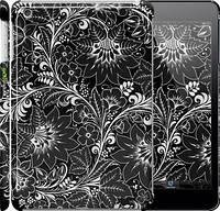 """Чехол на iPad mini Чёрно-белая хохлома """"1092c-27"""""""