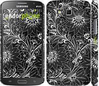 "Чехол на Samsung Galaxy Grand 2 G7102 Чёрно-белая хохлома ""1092c-41"""