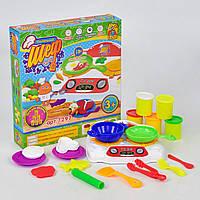 Набор с тестом для лепки Fun Game Маленький Шеф кухар 7297