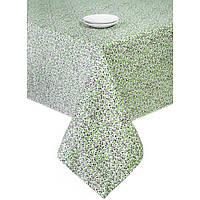 Скатерть на стол в стиле прованс Квіти-Олива
