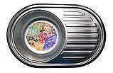 Кухонна мийка (врізна) Галаті Дана Сатін, фото 2