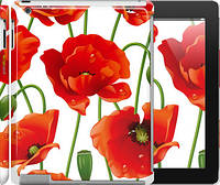 "Чехол на iPad 2/3/4 красные маки 2 ""2389c-25"""
