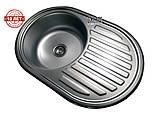 Кухонна мийка (врізна) Галаті Дана Сатін, фото 6
